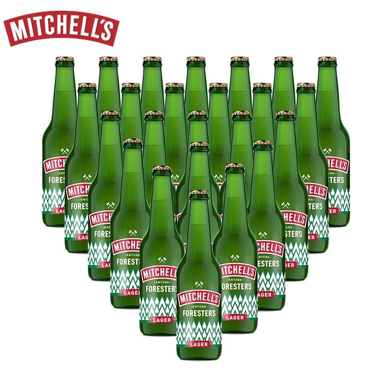330ml Mitchell's Forester's Lager (R13.70 Per Beer, 24 Beers)