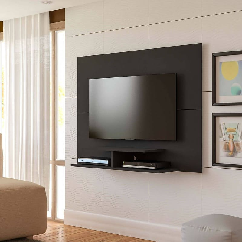 Madrid Wall Mounted Plasma Floating Feature