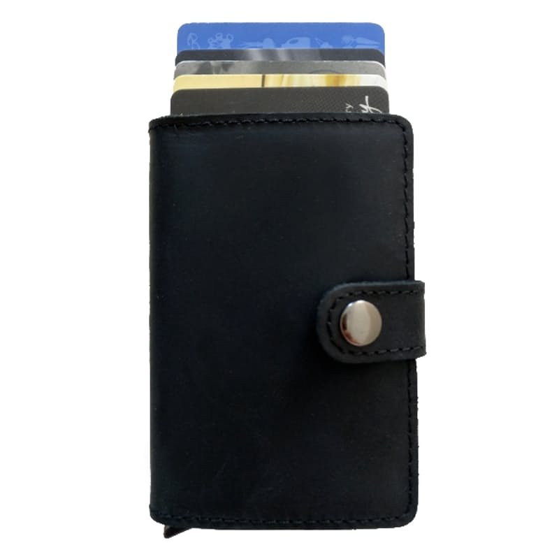 Genuine Leather Wallet with RFID for Cards