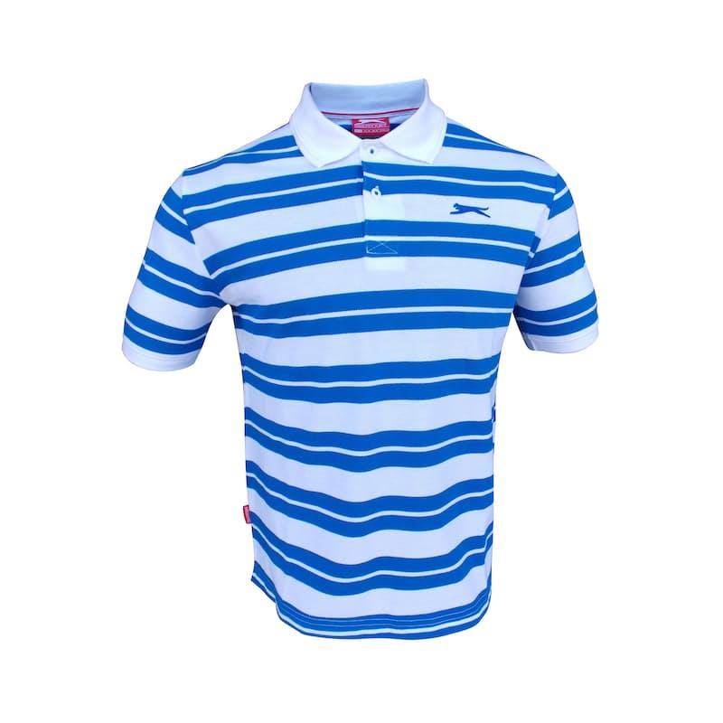 Men's Short Sleeve Striped Polos