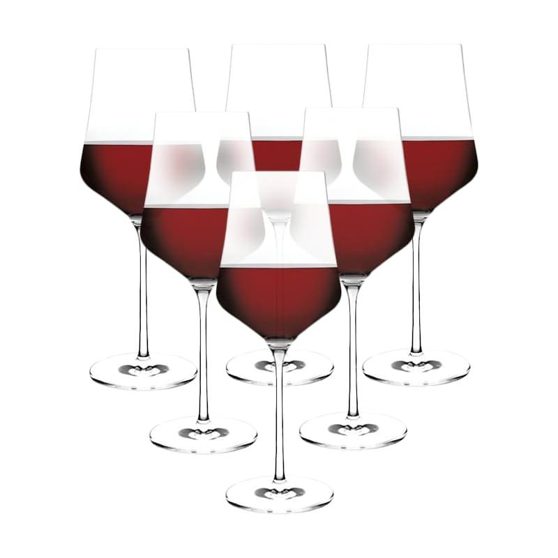 Set of 6 500ml or 610ml Noblesse Red Wine Glasses