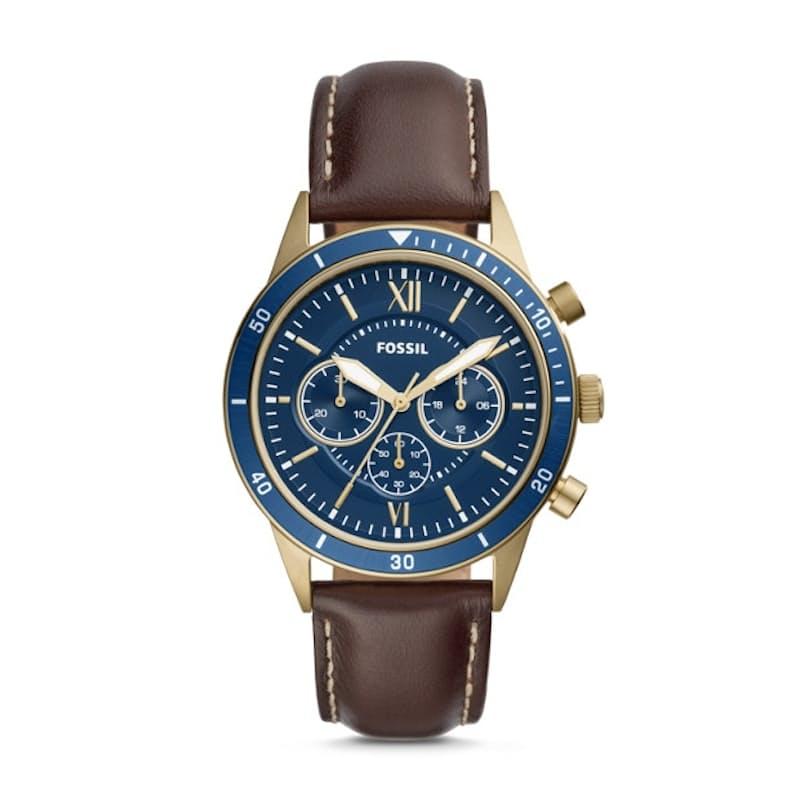 Men's Flynn Chronograph Sport Leather Watch