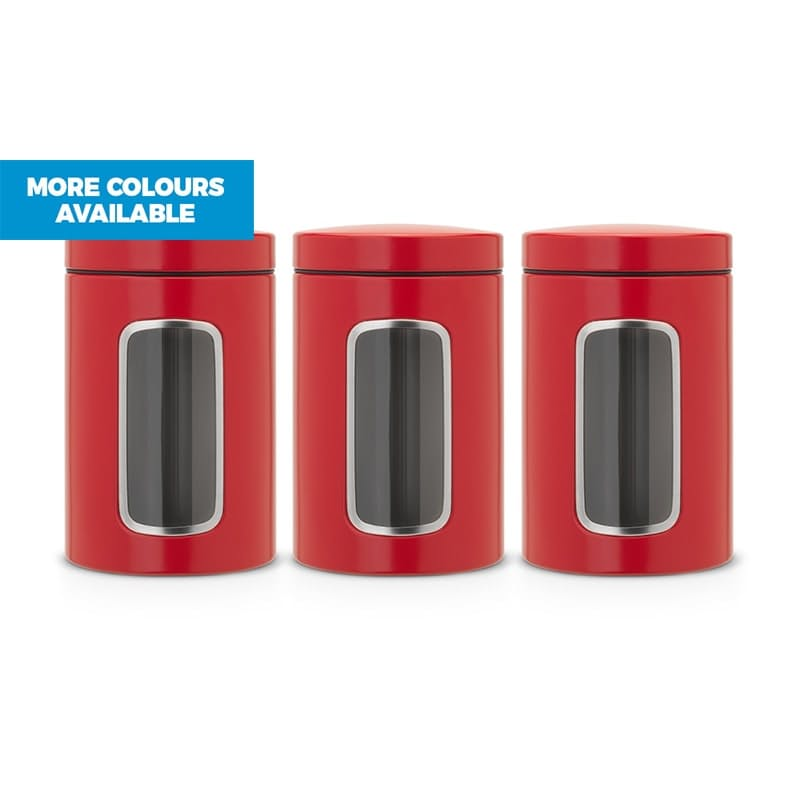 3-Piece 1.4L Window Canister