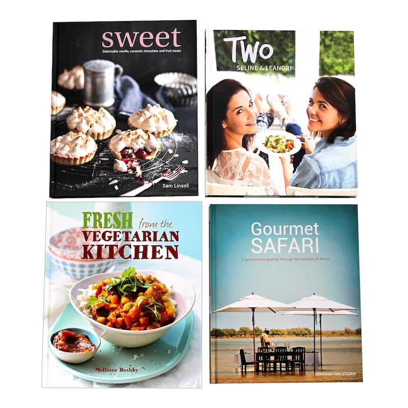 Pack of 2 Choose Your Own Recipe Books (Multiple Options Available)