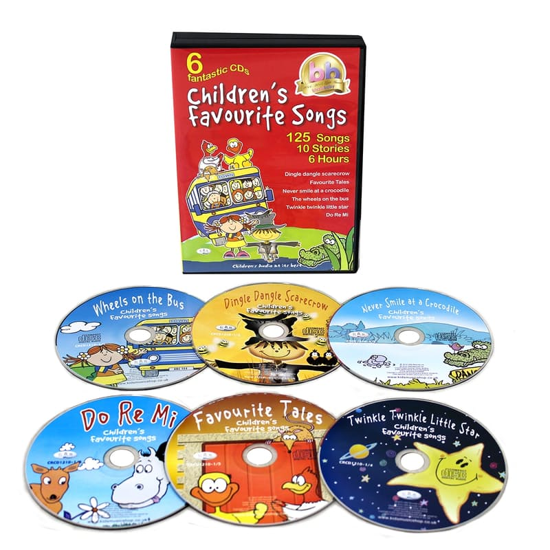 Children Love: Songs, Stories & Games (12x CD's)