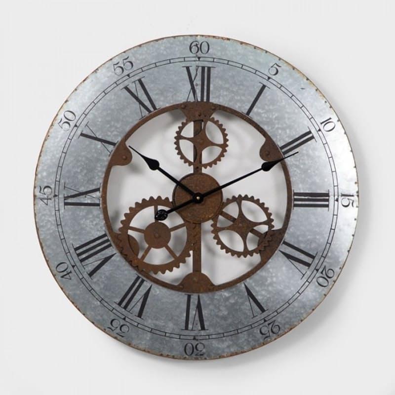 Open Dial Gear Wall Clock