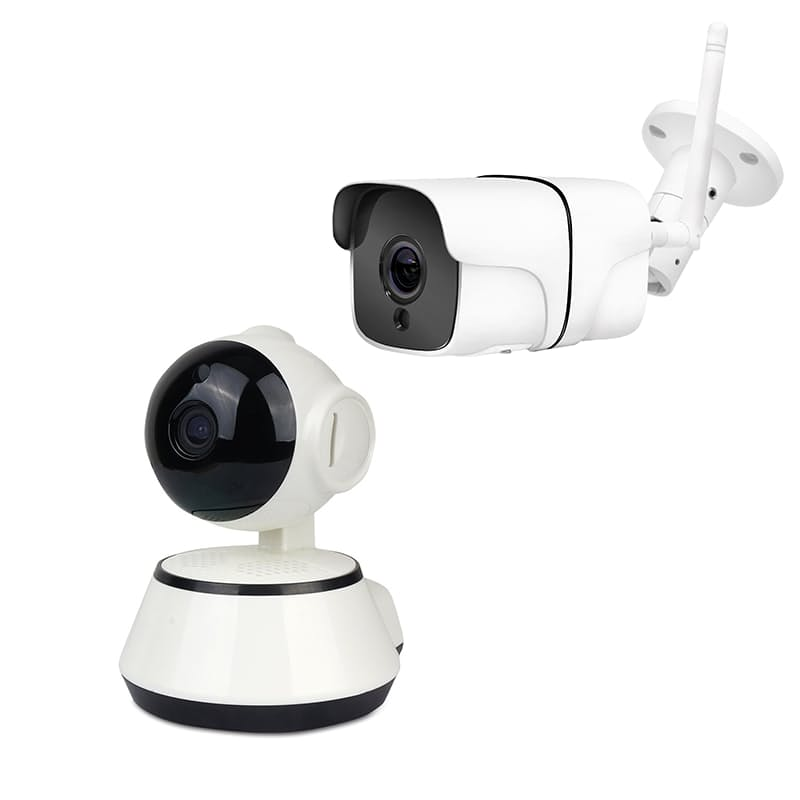 Indoor or Outdoor HD WiFi IP Security Camera