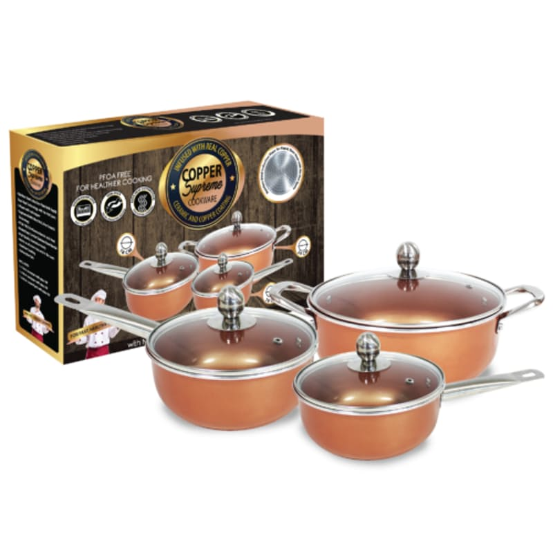 3 Piece Non-Stick Cookware Set