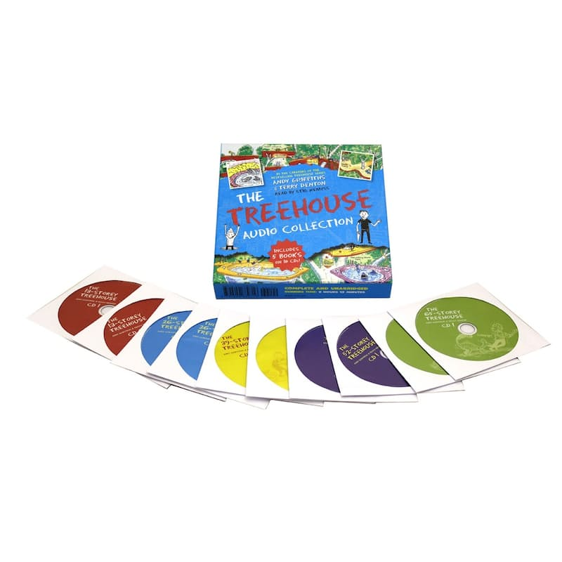 Children's Audiobook Set (5 Books on 10 CD's)