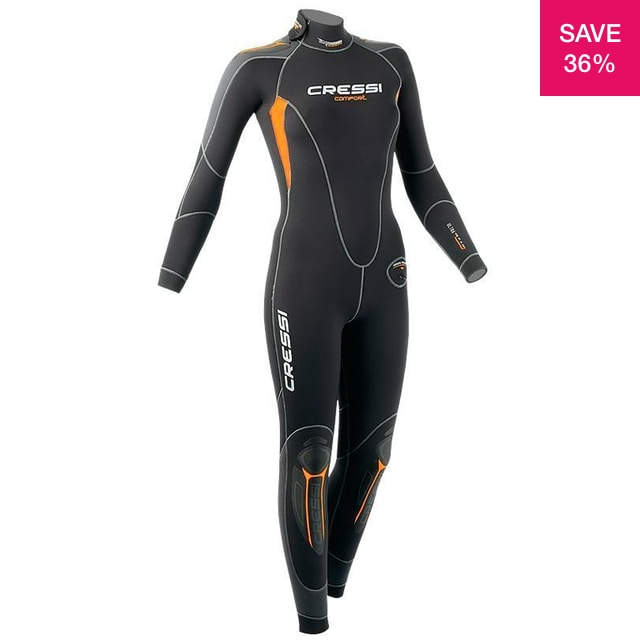 36% off on Ladies 5mm Comfort Wetsuit