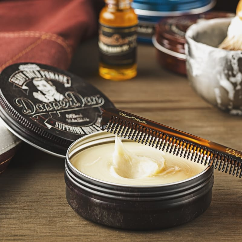 Heavy Hold Pomade Tin Supreme Hold and Shine