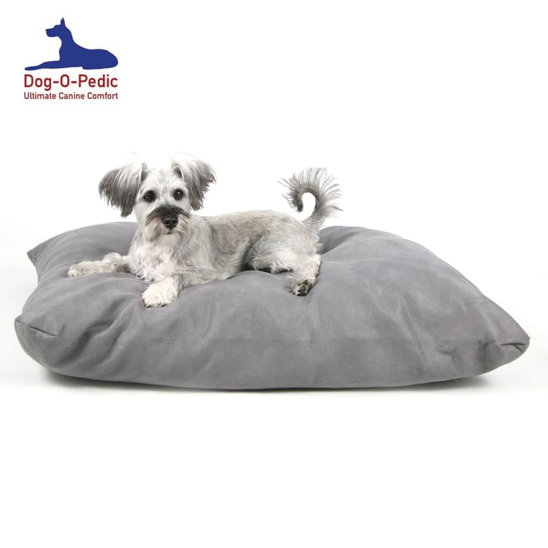 Faux Suede or Waterproof Dog Pillow