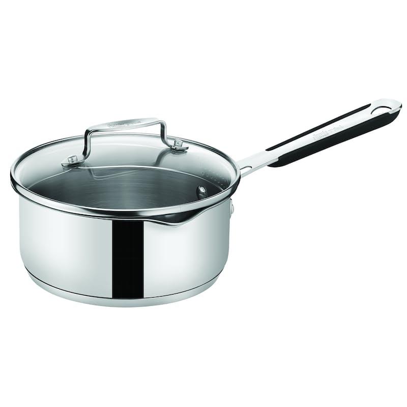 Jamie Oliver Premium Stainless Steel 16cm Saucepan with Lid