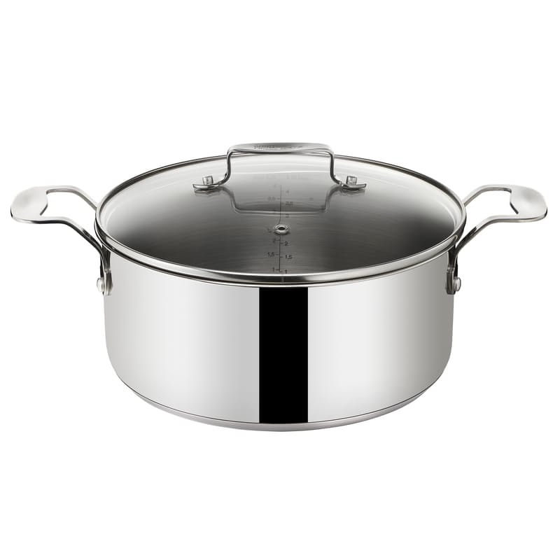 Jamie Oliver Everyday Stainless Steel 24cm Stewpot with Lid