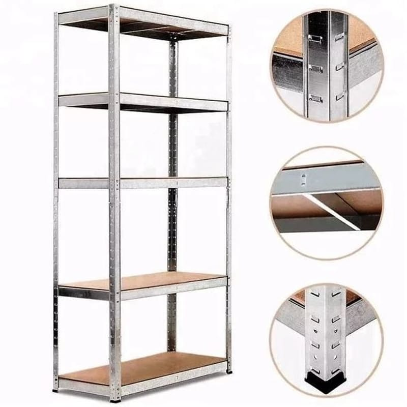 Pack Of 2 DIY Boltless Shelving