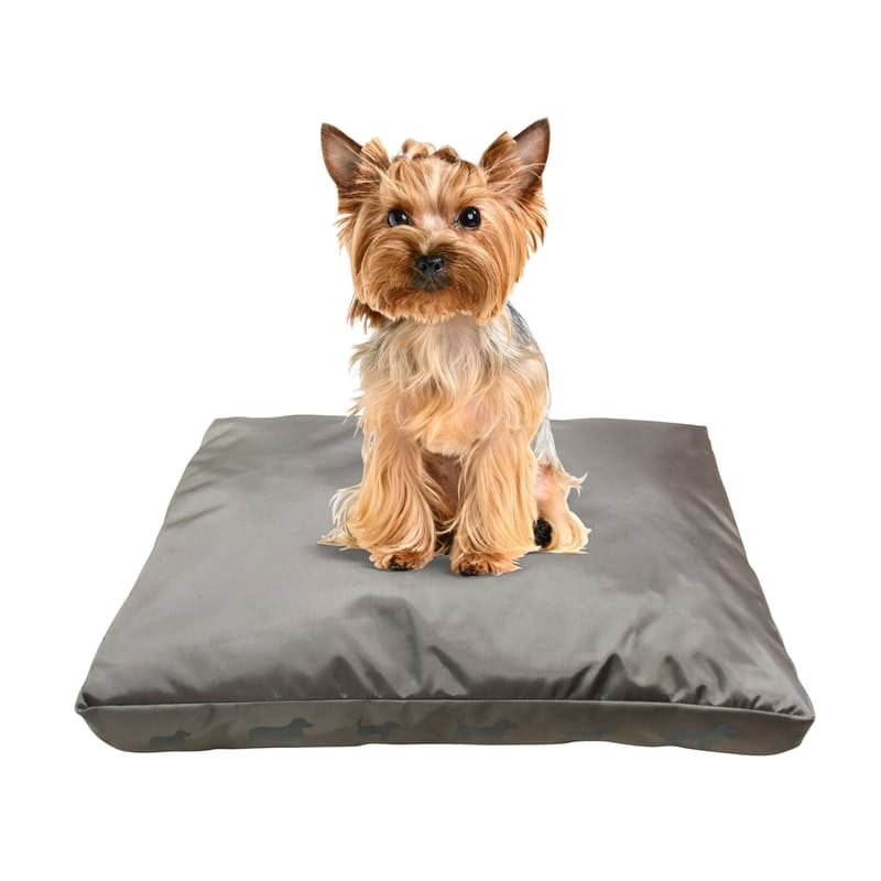 Portable Pet Bed (Soft Top/Waterproof Cover)