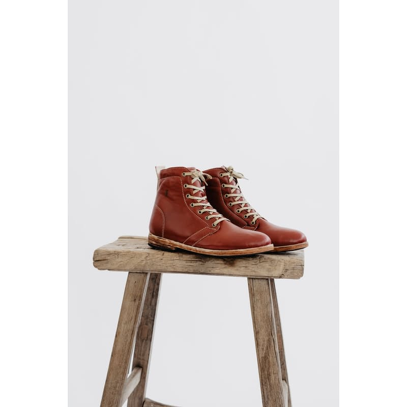 Handmade Full Grain Leather High-Tops
