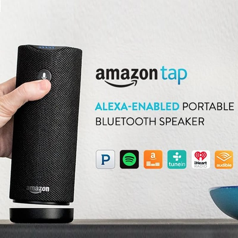 Echo Tap Alexa Enabled Portable Bluetooth Speaker