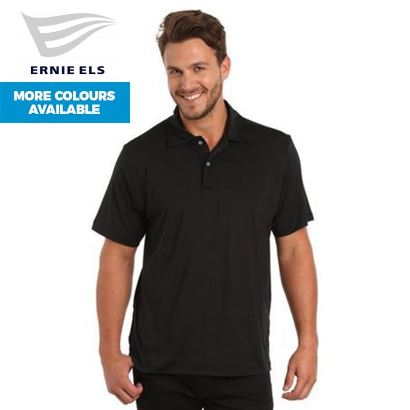 Men's Solid Polo Tee