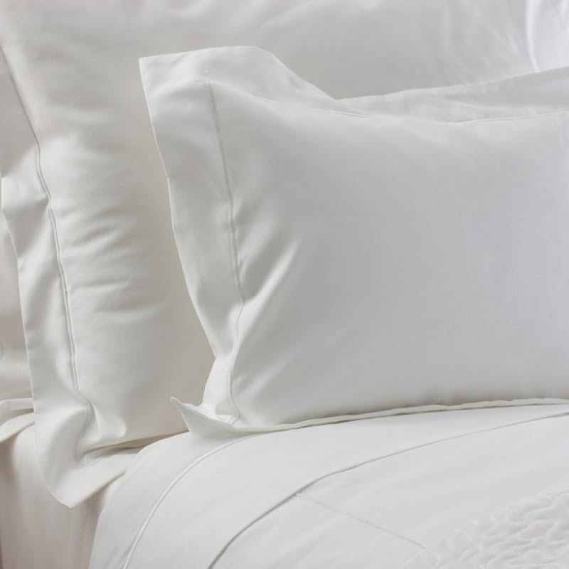 Set of 2, 300 Thread Count Egyptian Cotton Oxford Satin Stitch Pillowcases