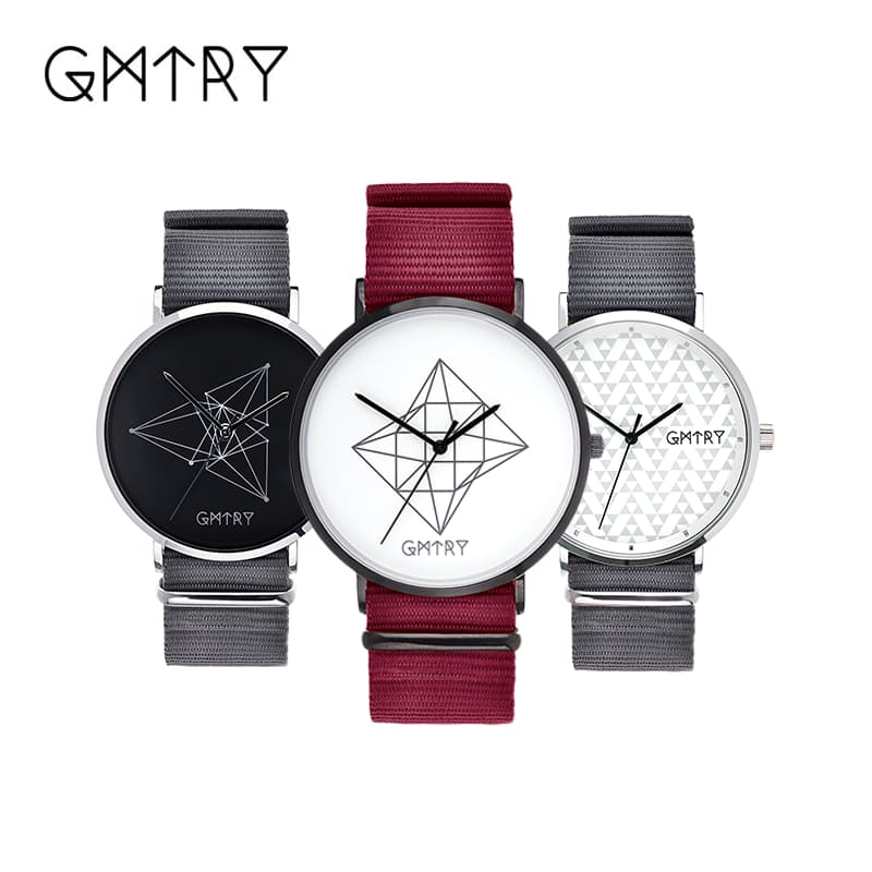 3-Piece Modern Gent's Watches with Two Interchangeable Straps