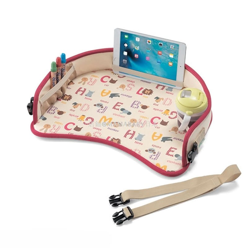 Kids Portable Travel Snack and Play Tray