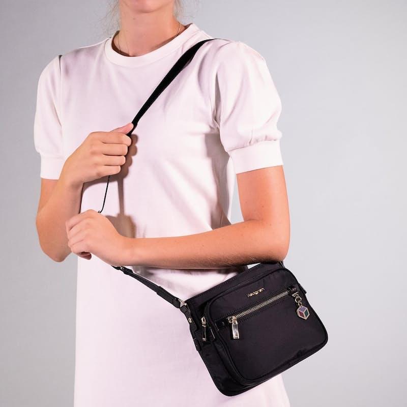 Charm Multi-Pocket Crossover Bag