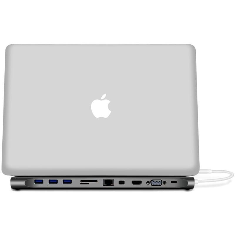 11-in-1 Multi-Function Type-C USB Hub