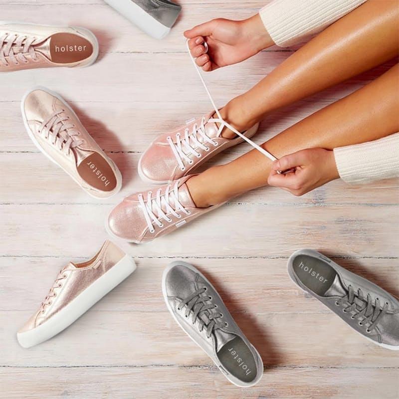 Ladies Platform Cupid Sneaker