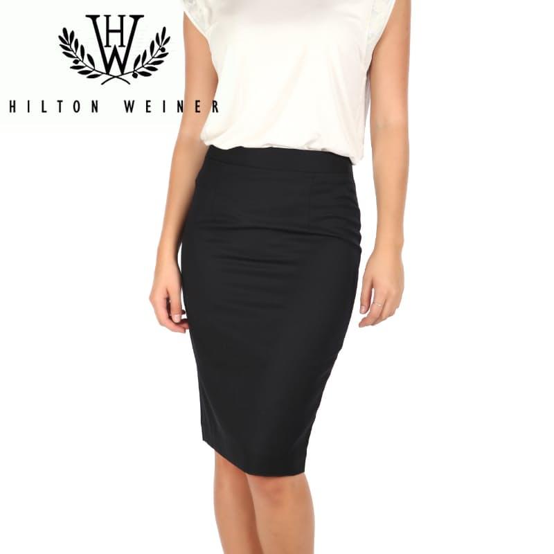 Ladies Tailored Black Skirt
