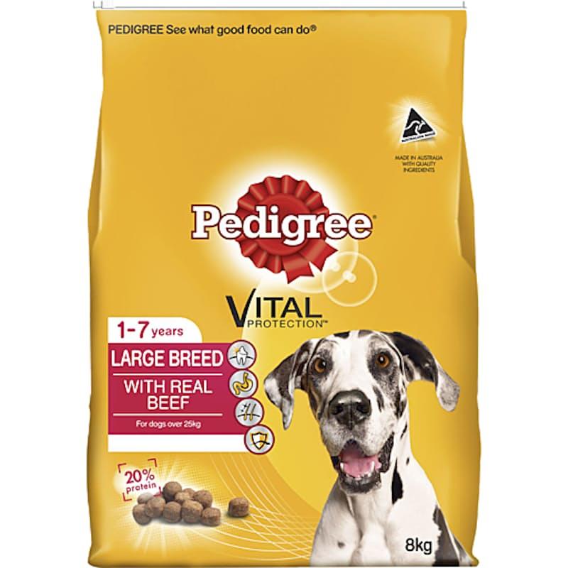 8kg Large Adult Breed Dry Dog Food