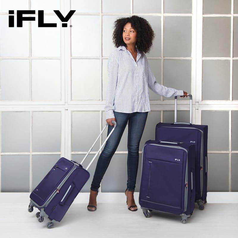3-Piece Summit Ultra-Light Purple Luggage