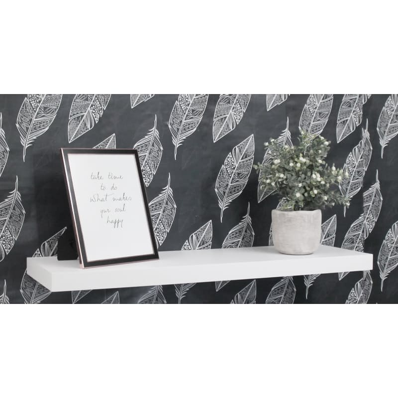 Set of 2 Small, Medium or Large Floating Shelves