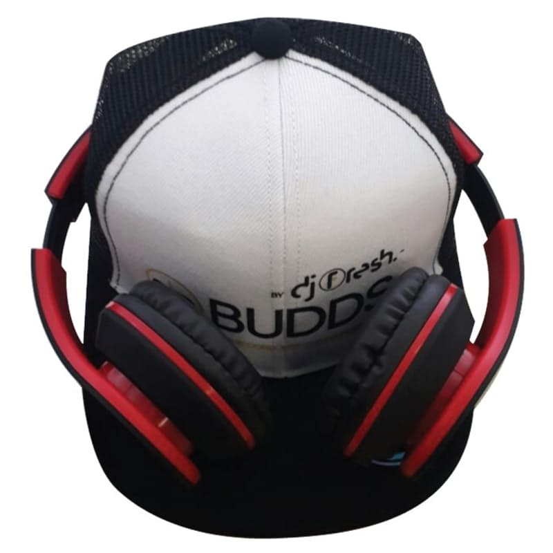 Wired Over-Ear Headphones with Flat Cap