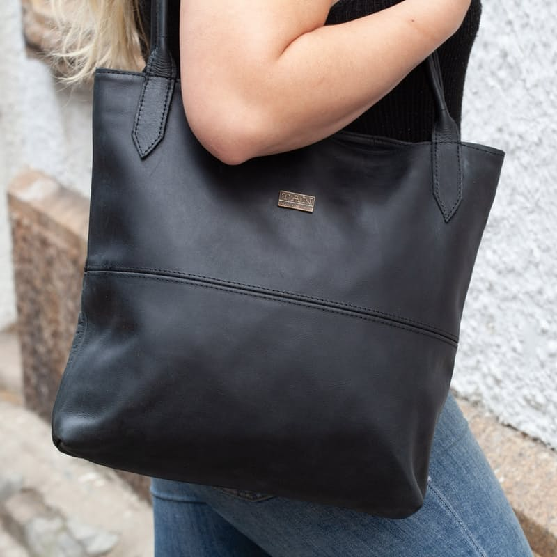 Ashley Genuine Leather Classic Tote Bag (Multiple Colours Available)