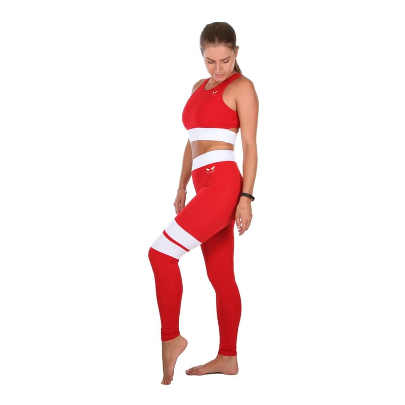 Ripping Red Active Wear Set