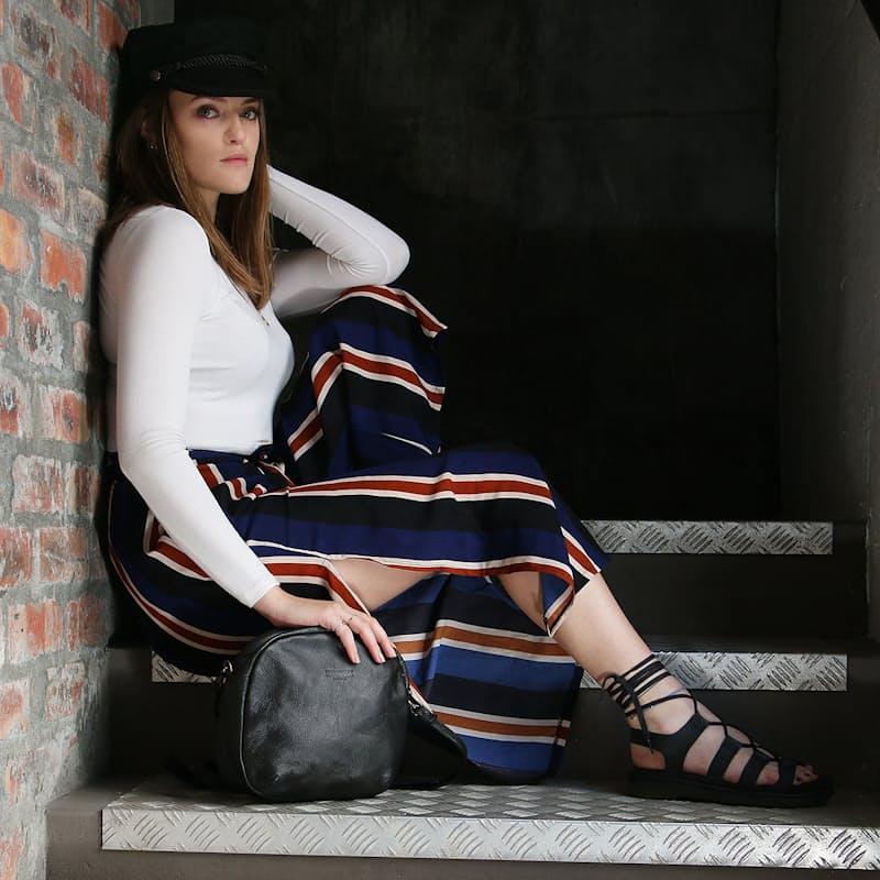 Ellie Leather Sling Bags