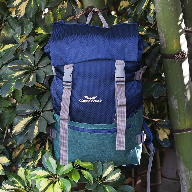 Water-Resistant Lightweight Everyday Backpack with Multiple Compartments