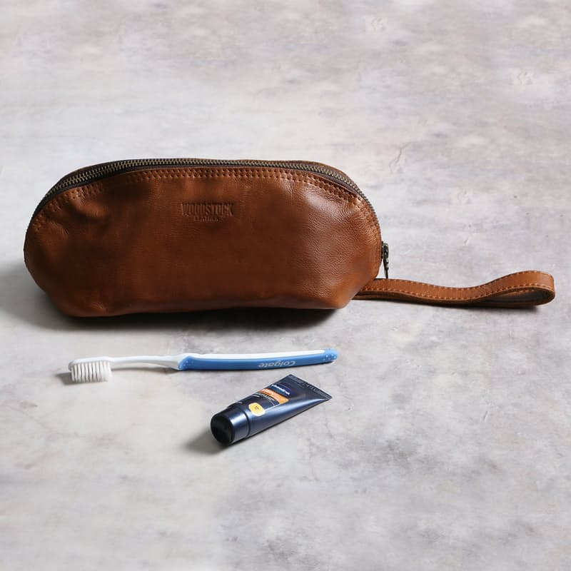 Jody Leather Toiletry Bags