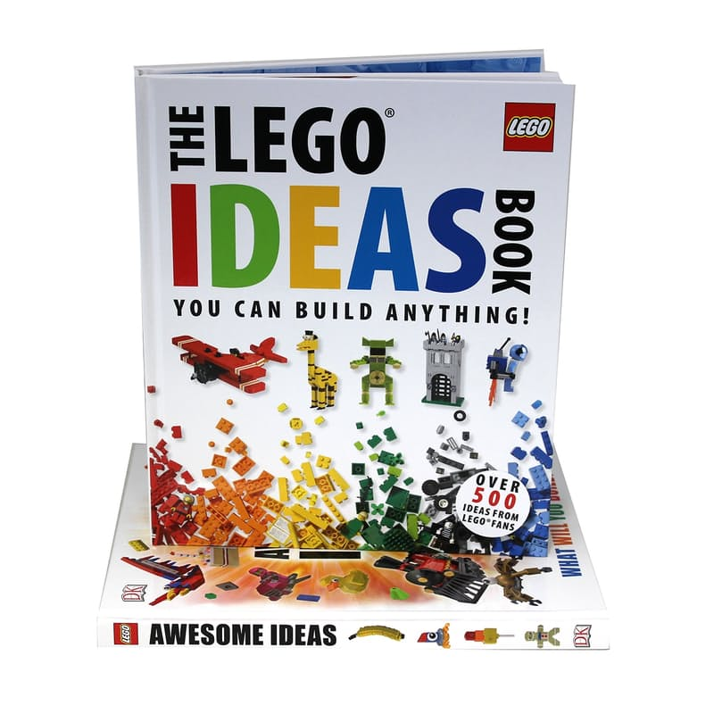 Ideas Full Colour Hardcover Book Set (2 Books)