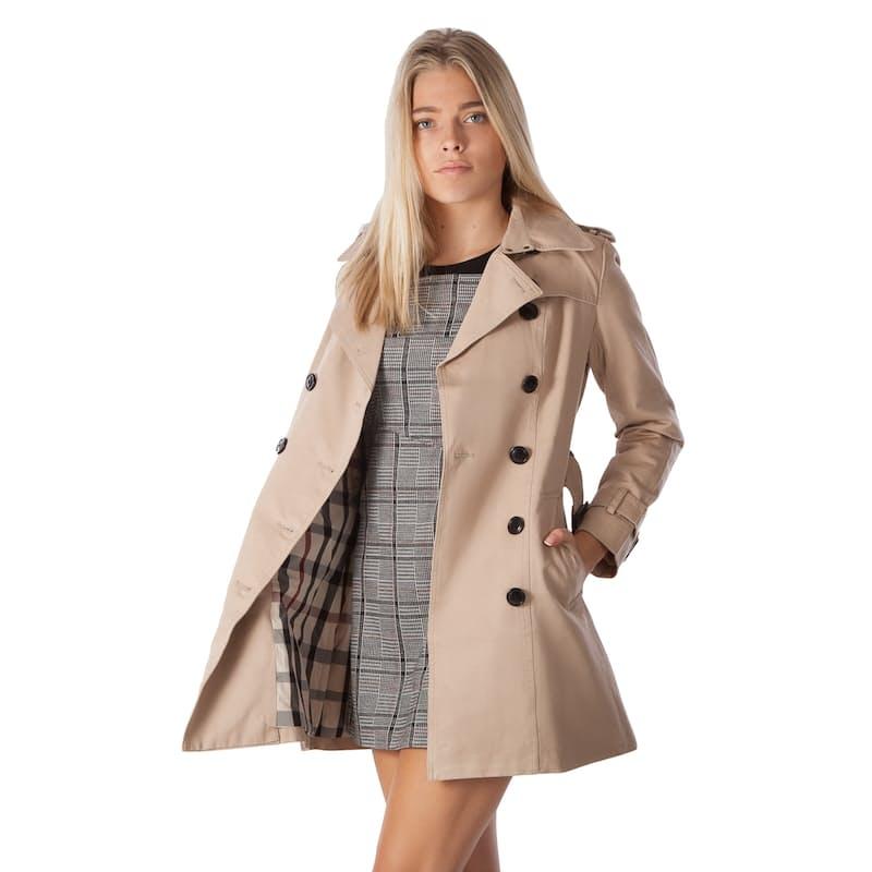 Ladies Classic Trench Coat