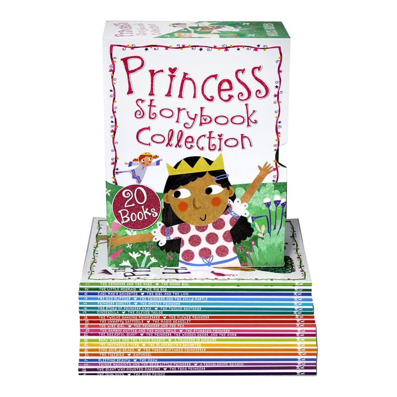 Princess Storybook Collection Box Set (20 Books)