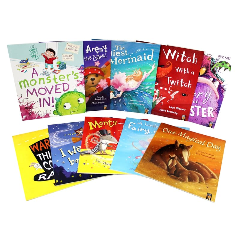 Through the Magic Window - Children's Picture Book Box Set (10 Books)