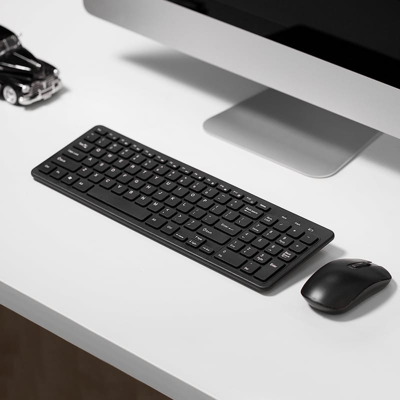 Wireless Full Keyboard and Mouse