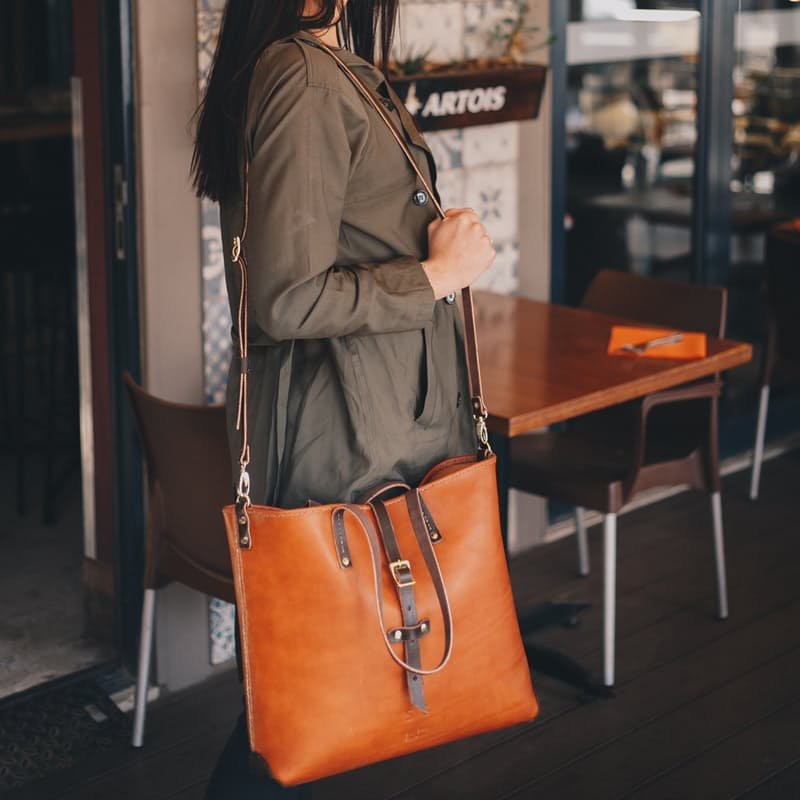 Genuine Leather Esther Handbag