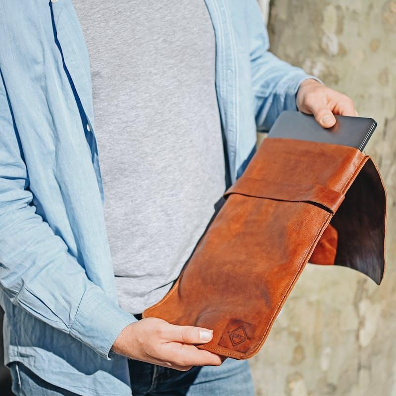Genuine Leather Laptop Sleeve