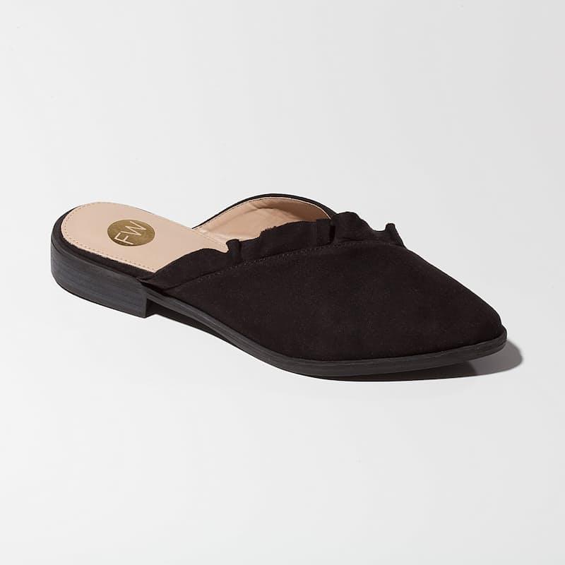Lupita Mule Faux Suede Shoe