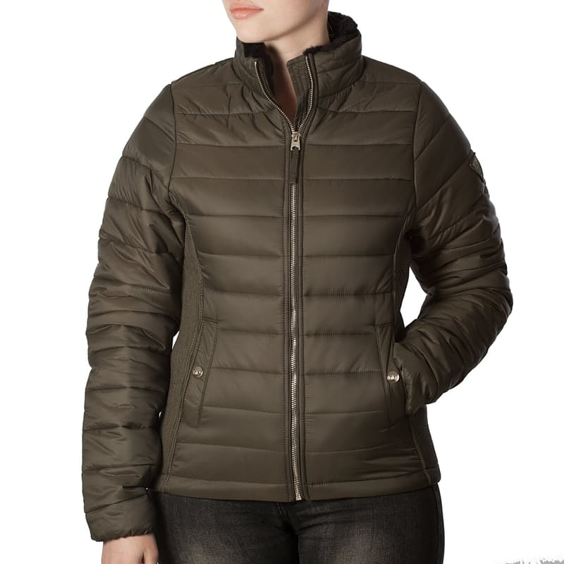 Ladies Cruelty-free Puffer Jacket (Multiple Colours Available)