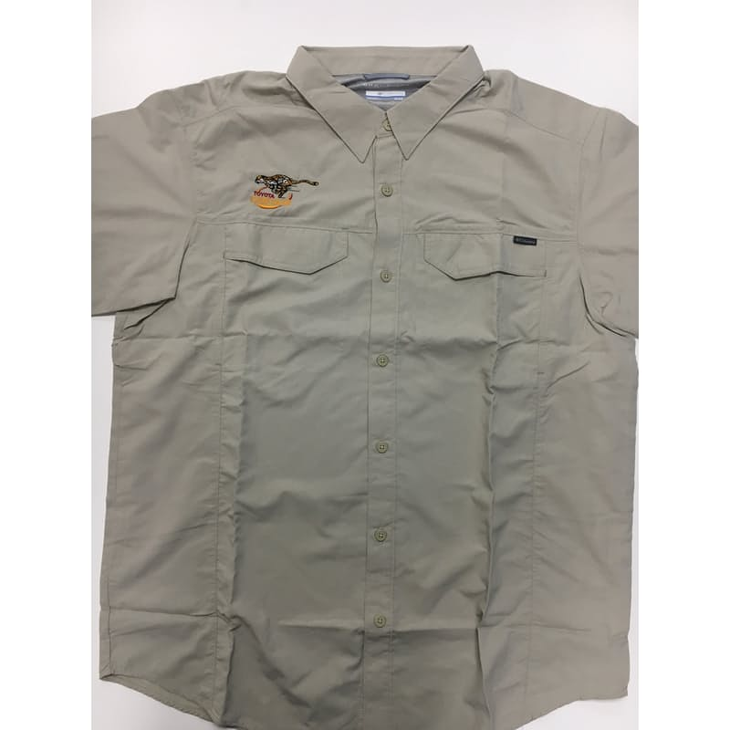 Men's Silver Ridge Short Sleeve Shirt - Cheetahs