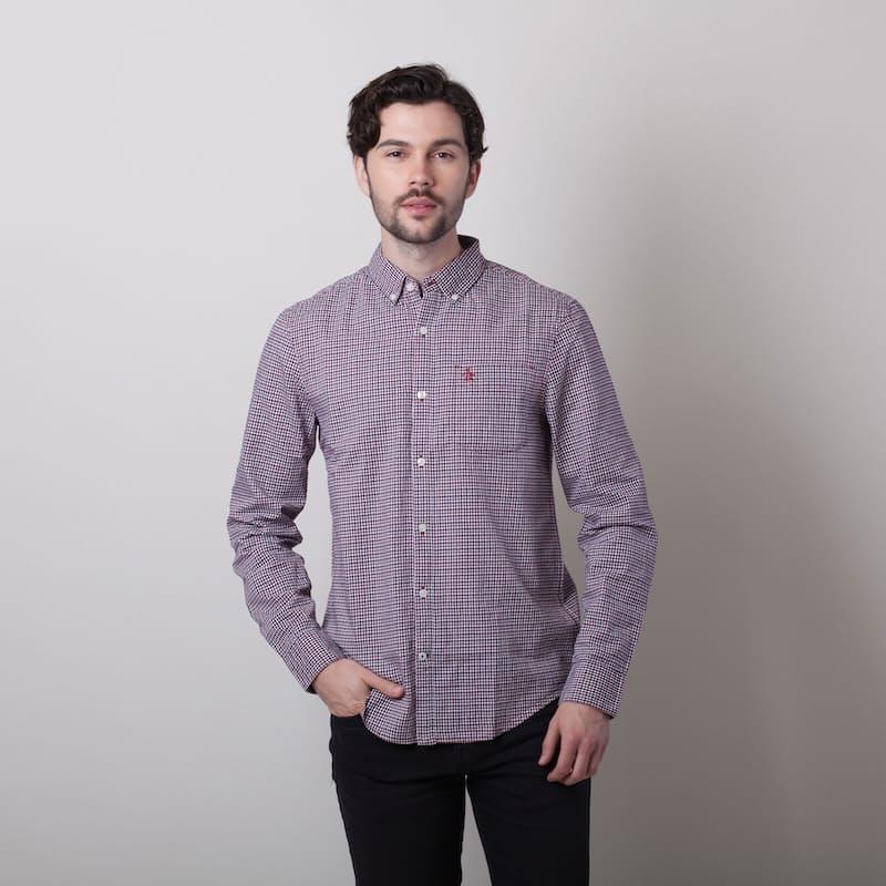 Men's Yarn Dye Check Shirt